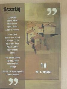 Aczél Géza - Tiszatáj 2011. október [antikvár]