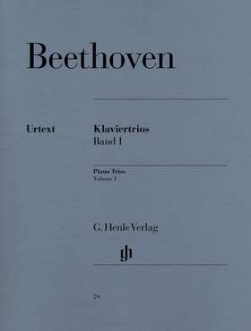 BEETHOVEN - KLAVIERTRIOS BAND I URTEXT (RAPHAEL / LAMPE)