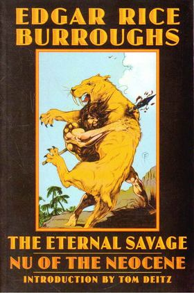 Edgar Rice Burroughs - The Eternal Savage [antikvár]