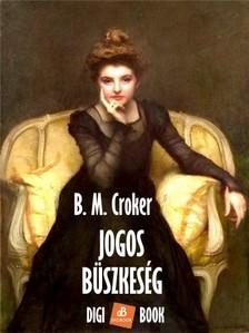 B. M. CROKER - Jogos büszkeség [eKönyv: epub, mobi]