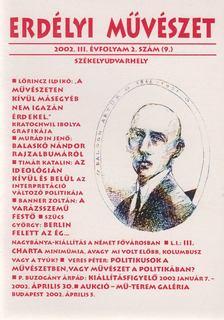 Veres Péter - Erdélyi Művészet 2002. III. évfolyam 2. szám [antikvár]