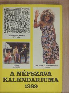 Gundel Gábor - A Népszava kalendáriuma 1989 [antikvár]