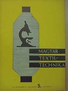 Bártfai Győző - Magyar Textiltechnika 1969. május [antikvár]