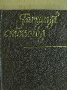 Barta Imre - Farsangi monológ/Füredi köszöntő/Búcsúztató (minikönyv) (számozott) [antikvár]