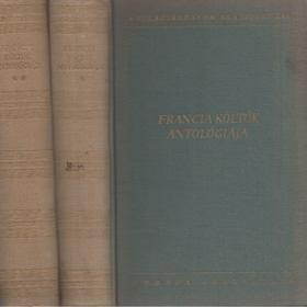 Francia költők antológiája I-II. kötet [antikvár]