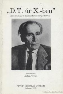 Botka Ferenc - D. T. úr X.-ben [antikvár]