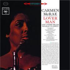 BILLIE HOLIDAY - LOVER MAN LP CARMEN McRAE