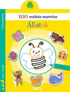 100 mókás matrica - Állatok