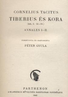 Tacitus - Tiberius és kora [antikvár]