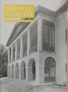 A. Czétényi Piroska - Műemlékvédelem 1962/4. [antikvár]