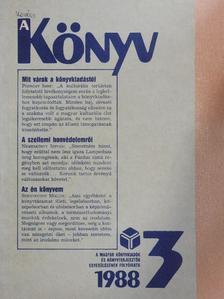 Borsa Gedeon - A Könyv 1988/3. [antikvár]