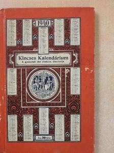 Kádár Erzsébet - Kincses Kalendárium 1940 [antikvár]