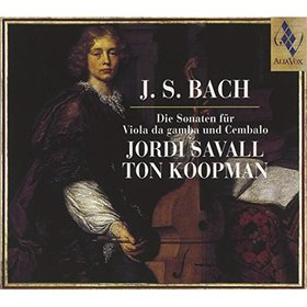 Bach - DIE SONATEN FÜR VIOLA DA GAMBA UND CEMBALO CD