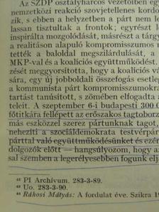 Benkes Mihály - Párttörténeti Közlemények 1978/2. [antikvár]