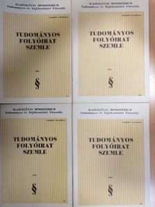 Andics Jenő - Tudományos Folyóirat Szemle 1983/1-4. [antikvár]