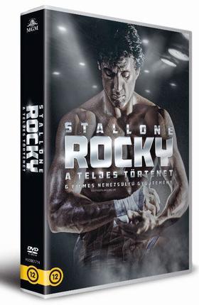 John G. Avildsen, Sy - Rocky - A teljes történet (6 DVD)
