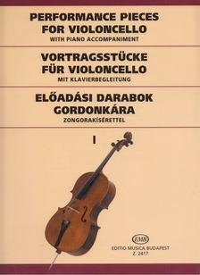 Csáth Emőke - Előadási darabok hegedűre, zongorakísérettel I. [antikvár]