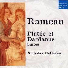 RAMEAU - PLATÉE ET DARDANUS CD NICHOLAS MCGEGAN
