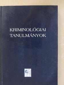 Barabás Tünde - Kriminológiai tanulmányok 42. [antikvár]
