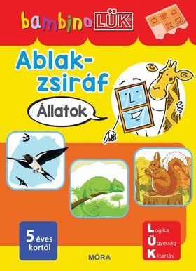 Bambino LÜK - Ablak-Zsiráf könyvek - Állatok LDI141