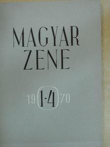 Breuer János - Magyar Zene 1970/1-4. [antikvár]