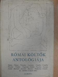 Balogh Károly - Római költők antológiája [antikvár]
