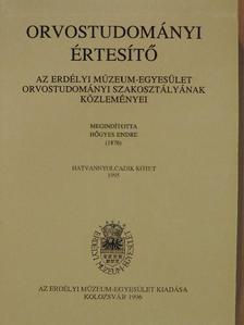 Ábrahám Zoltán - Orvostudományi értesítő 1995. [antikvár]
