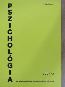 Bánki M. Csaba - Pszichológia 2004/3. [antikvár]