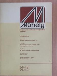 Bálint B. András - Műhely 1983/3. [antikvár]