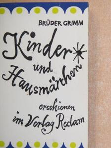 Brüder Grimm - Kinder- und Hausmärchen [antikvár]