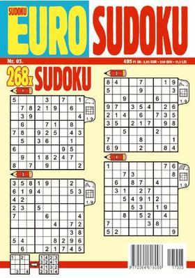 CSOSCH KIADÓ - EURO Sudoku 2017/3