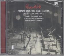 BARTÓK BÉLA - CONCERTO FOR ORCHESTRA,PIANO CONCERTO NO.3,CD PERIANES