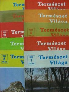 Csaba György - Természet Világa 1988. (nem teljes évfolyam) [antikvár]