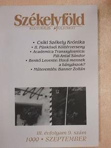 Benkő Levente - Székelyföld 1999. szeptember [antikvár]