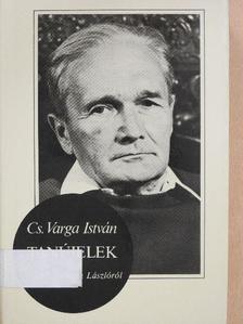 Cs. Varga István - Tanújelek [antikvár]