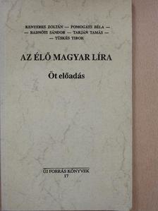 Kenyeres Zoltán - Az élő magyar líra [antikvár]