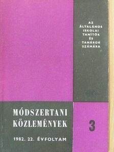 Antal Jánosné - Módszertani közlemények 1982/3. [antikvár]