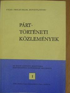 Benkő Judit - Párttörténeti Közlemények 1980. április [antikvár]