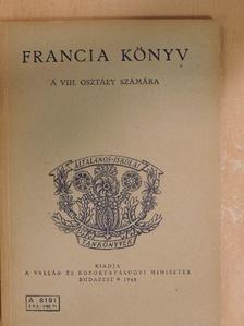 Makay Gusztáv - Francia könyv [antikvár]