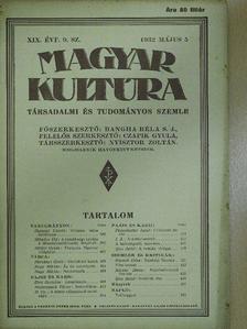 Bíró Bertalan - Magyar Kultúra 1932. május 5. [antikvár]