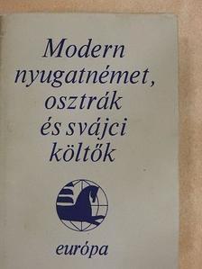 Alois Vogel - Modern nyugatnémet, osztrák és svájci költők [antikvár]