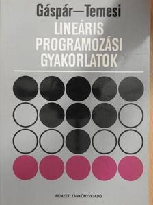 Gáspár László - Lineáris programozási gyakorlatok [antikvár]