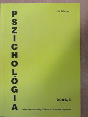 Brassai László - Pszichológia 2006/3. [antikvár]