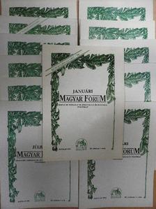 Czire Dénes - Magyar Fórum 1995. január-december [antikvár]