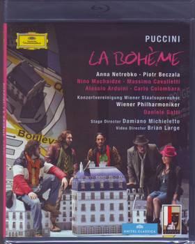 Puccini - LA BOHÉME BLU-RAY NETREBKO, BECZALA, MACHAIDZE, GATTI