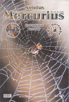 TAKÁCS TIBOR - Mundus Mercurius  2004/11. november [antikvár]