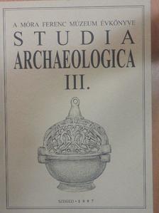 Guba Zsuzsanna - Studia Archaeologica III. [antikvár]