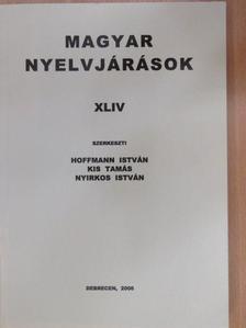B. Gergely Piroska - Magyar nyelvjárások XLIV. [antikvár]