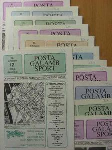 Béndek Lászlóné - Postagalamb Sport 1994. január-december [antikvár]