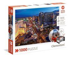 Clementoni Puzzle 1000 Virtuális Las Vegas